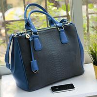2014 fashion vintage crocodile pattern bag women's bags handbag bag fashion women's handbag
