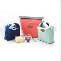 Fashion tricolor picnic bags, Korea creative picnic bags, thermal lunch  storage bag  51g, 3pcs wholesale