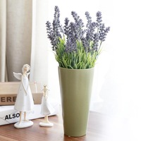 1 PCS Artificial Flowers PVC Garden Lavender for Home Decoration Wedding