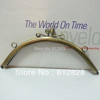5pcs 20.5cm Half Round Antique Bronze Purse Purse Frame with Sewing Holes