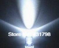 Free shipping 5MM white luminous white Light tube Super bright LED light-emitting diode