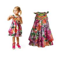 New Fashion 2014 hot sale children designer dress,top quality kids dress for girl,Catimini brand girls dress,Bow dress for girls