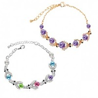 2013 accessories crystal accessories jewelry beetle czech diamond beautiful bracelet e52