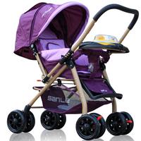 0217 carrinho de bebe Sanle baby stroller car child hadnd baby car baby car umbrella light folding