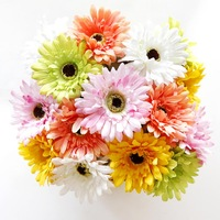 1 PCS Artificial Flowers Garden African Chrysanthemum for Home Decoration Wedding