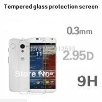 For MOTO X  Anti-Fingerprint Tempered Glass HD Film Screen Protector screen saver  for Motorola MOTO X Phone