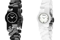 Luxury authentic classic elegant 100% true ceramic sapphire wrist watch for women free shipping