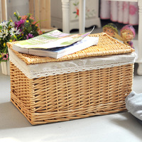 Wicker rattan wardrobe high quality product storage box storage box finishing box Large storage cabinet