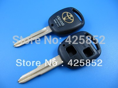 Toyota Remote Key Shell TOY41 Blade 2 Buttons, 2B Toyota Key Blanks/Cover /Case(China (Mainland))