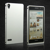 Top Quality Huawei P6 Case Ultra Thin Alu Aluminum Metal case for Huawei Ascend P6