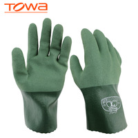 Freeshipping Towa no.565 oil resistant gloves slip-resistant gloves Nitrile rubber wear-resistant protective