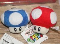 "Mushrooms 1pcs 8"" Stuffed Dolls Plush Toys Super Mario Mushrooms"