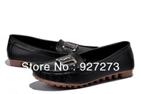 Women Brand Fashion Ballet Flats New 2014 Spring Nurse Patent Quality Leather Loafers Office Her Shoes EU36-41 Free Shipping