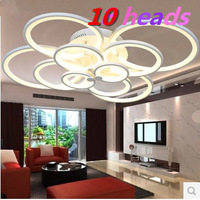 NEW LED ring light living room ceiling lamp bedroom lamp modern minimalist restaurant -150W-ring- recommended EMS delivery