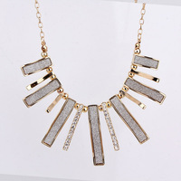 2b12 necklace female short design necklace fashion gothic vintage crystal necklace accessories