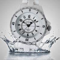 Luxury Women Ladies Waterproof Sports White Ceramic Wrist Quartz Watch,Women dress Rhinestone Analog wristwatches,Free Shipping