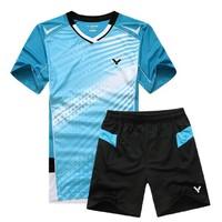 2014 victory Championships South Korea jersey Men Shirt /Tennis Clothes / Sports Clothes / Table Tennis Shirt +shorts