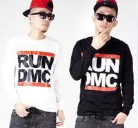 4 Colors New MEN Long Sleeve Print Sweatshirt  Hip hop rap Crewneck Sweater COSBOY STYLE