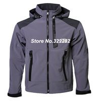 Free Shipping Mens  Windstopper Softshell Jacket Brand  waterproof coat