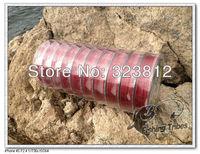 PE free shipping  Wholesale - dyneema  fishing tackle braided fishing line 8LB--80LB 1000M red
