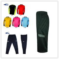 Free shipping Ucan long-sleeve Football the wicketkeeper k03103 goalkeeper capris k02309 trousers k02310