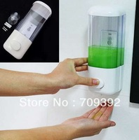 Home Washroom Suck Wall Mounted Soap Sanitizer Bathroom Shower Shampoo Dispenser[210302]