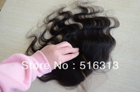 "Brazilian body wave Hair Lace Top Closure 4x4"" Virgin Brazilian Lace Part Closure 3 way Part Bleached knots Hair piece"