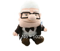 Pixar Movie UP Carl Fredricksen Grandpa Carl Plush Toy Russell Soft Doll