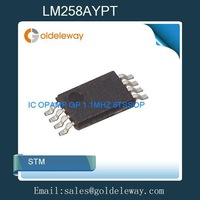 48pcs=1 Lot LM258AYPT STM IC OPAMP GP 1.1MHZ 8TSSOP