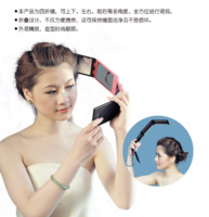 Hot-selling portable beauty makeup mirror folding mirror