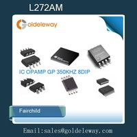 54pcs=1 Lot L272AM Fairchild IC OPAMP GP 350KHZ 8DIP