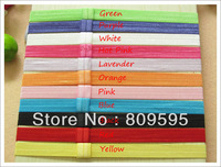 Free shipping , Wholesale 300pcs/lot 11colors Elastic Baby headband hairband Hair accessories