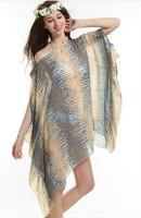 The new large mantillas beach towel wrap skirt big skirt beach dress sexy little fresh sarong