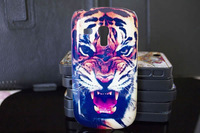 Roaring Tiger Hard PC Phone case for Samsung Galaxy S3 Mini I8190 nld bez