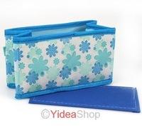 Wholesale 5pcs Multifunction Folding Makeup 2 Color Cosmetics Storage Box Organizer Free Shipping 261573