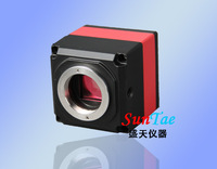 HOT SALE! MICROSCOPE CCD CAMERA.CONNECT THE MONITOR