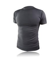 ultra elastic fitness underwear antibiotic quick dry short-sleeve sport tshirt pro shirt tee