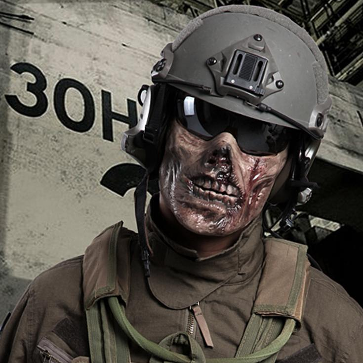 Moulin 07/12/2014 Authorized-Chief-M05-Zombie-Skeleton-Skull-Half-Face-Tactical-Combat-font-b-Airsoft-b-font-font