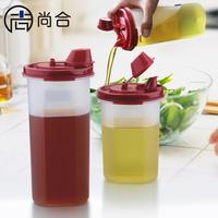Oiler leak-proof oil bottle oiler bottle vinegar bottle soy sauce pot seasoning bottle food plastic