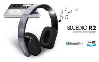 New Hot-sale fashion Bluedio R2 8 Encoding 8 Audio Speaker Bluetooth Headset  v4.0 Card Stereo Hifi Earphones
