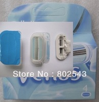 V4s, high quality razor blades for women woman's razor blade, 4 blades in pack, FREE SHIPPING