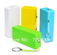 300pcs(100sets) 5600mAh USB External Backup Battery Power Bank with usb cable for iPhone iPod Samsung HTC Perfume 2th free ship