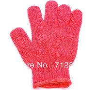 2pcs/lot Person Care Exfoliating Spa Bath Mitt Replacing Loofah Skin Care Bath Glove Scrubber BG2010