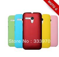 2PCS 10% OFF!! 10 Colors Hybrid Hard Back Case Cover Fit Motorola Moto G Mobile Phone Covers For Motorola Moto G X1032 Cases