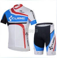 2014 new Chinese Dragon outdoor fun&sports white cycling jersey+white&black shorts bicycle jacket N1028