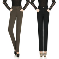 Autumn and winter female trousers professional western-style trousers high in the waist trousers ol formal pants high waist slim