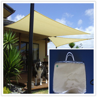 2014 new fashion product 3m *3 m *3mgarden trangle sun shade net  with cheap price