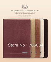 Retail package Fashion Kalaideng KA series Leather Case With holder function For ipad air/ipad 5 Free Shipping