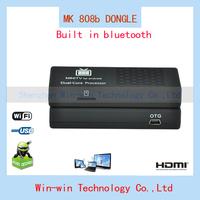 2014 new MK808b Android 4 HDMI TV Stick TV Dongle Rockship RK3066 Dual Core 1GB 8GB Mini PC Built in Bluetooth Free Shipping