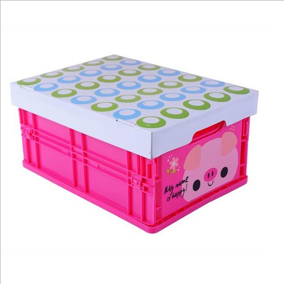 new 2014 3pcs/lot wholesale plastic PP shoes zakka basket organizer fashion folding drawer excellent storage box Free Shipping(China (Mainland))